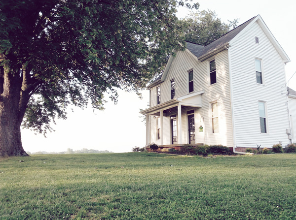 Old Pennsylvanian farmhouse