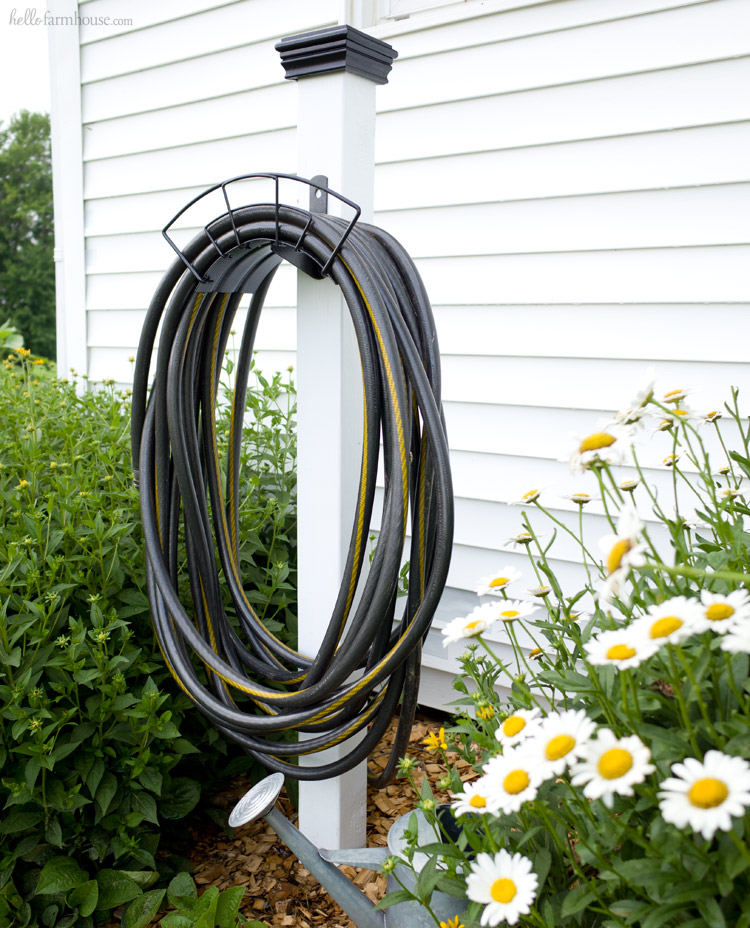 Keep Your Yard Beautiful And Organized With This Super Easy DIY Hose Stand  Project. It