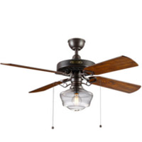 Vintage farmhouse ceiling fan