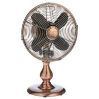 Retro copper fan
