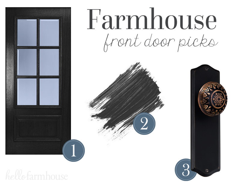 farmhouse front door picks hello farmhouse