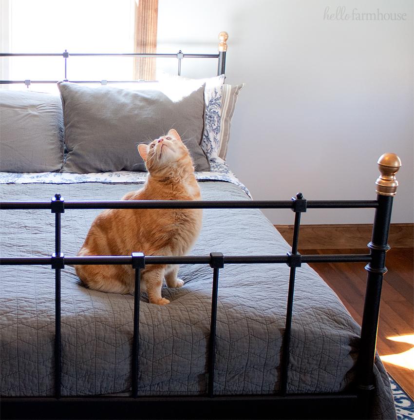IKEA farmhouse bedroom