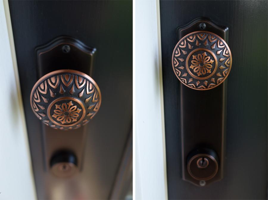 Farmhouse door hardware