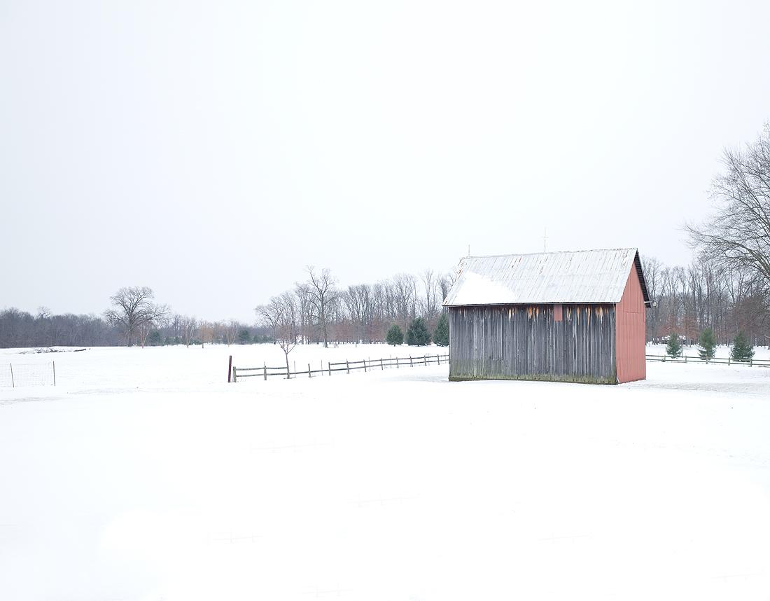 Winter at the farmhouse