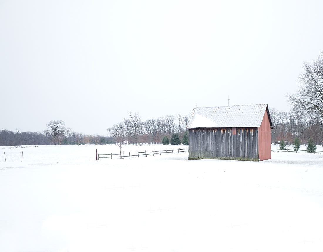 Winter at the farmhouse