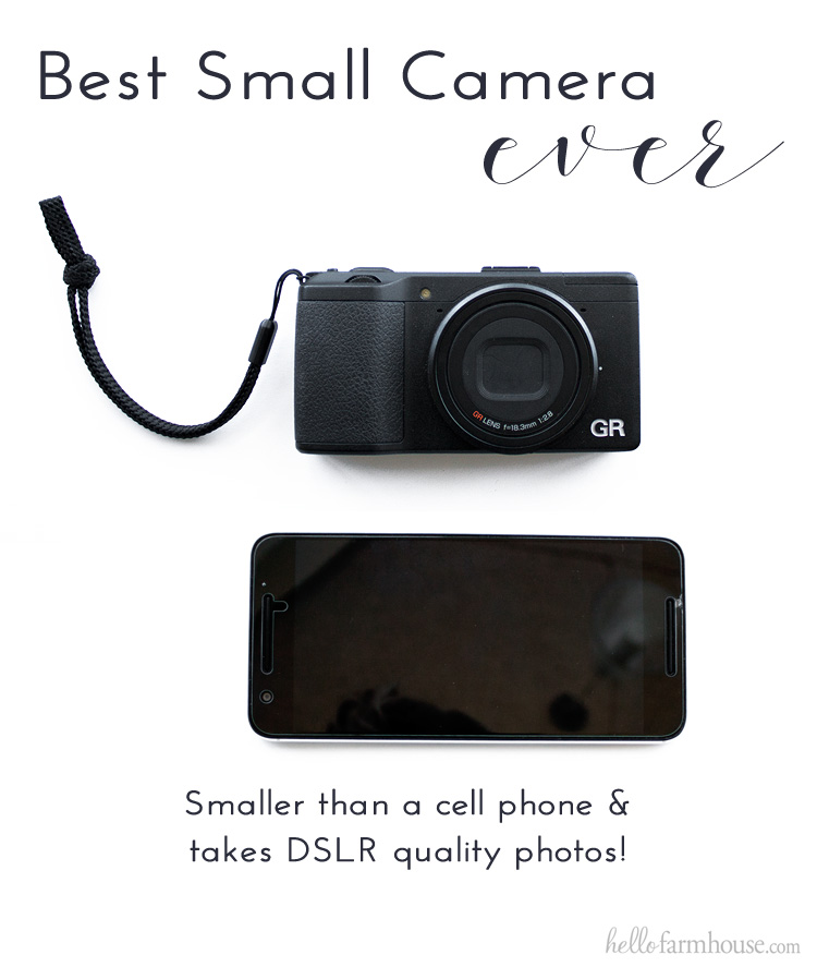 Best Small Camera Ever Ricoh Gr