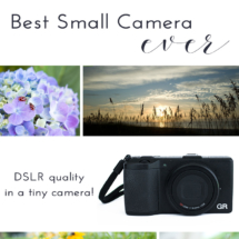 Best Small Camera: Ricoh GR