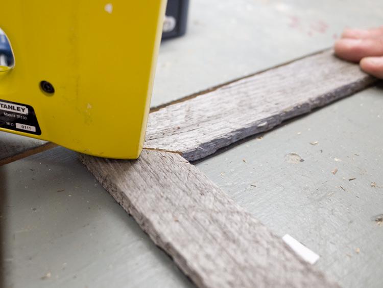 DIY Rustic Frame