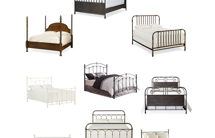 My absolute favorite farmhouse beds that are perfect for any home #farmhouse #farmhousedecor #homedecor