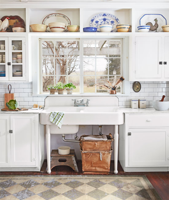 Find out where to find a beautiful vintage style farmhouse sink.