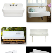 Where to find vintage style farmhouse sinks