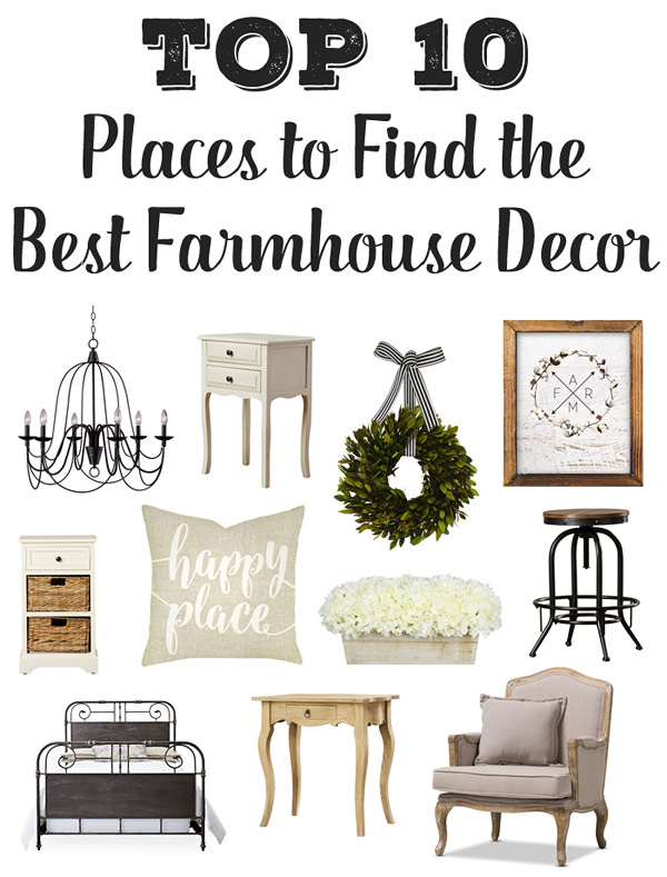 Top 10 Places To Find The Best Farmhouse Furniture Decor Hello