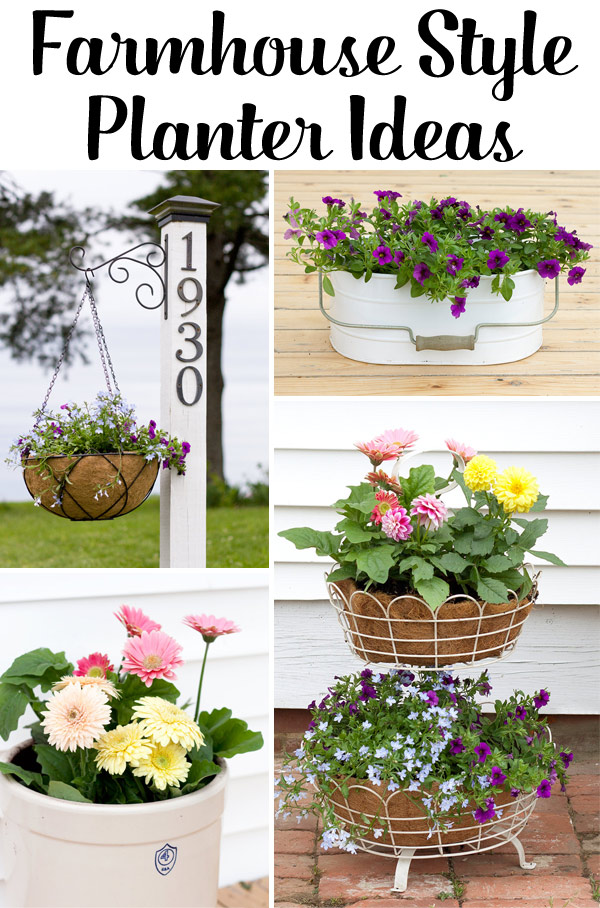 5 Easy Farmhouse Planter Ideas - o Farmhouse Planters Ideas on pillow ideas, plaque ideas, outdoor ideas, very cool science project ideas, retaining wall ideas, vase ideas, gardening ideas, truck ideas, white ideas, garden ideas, plate ideas, animal ideas, teapot ideas, lantern ideas, leather ideas, coffee table ideas, plant ideas, stand ideas, pot ideas, bird feeder ideas,