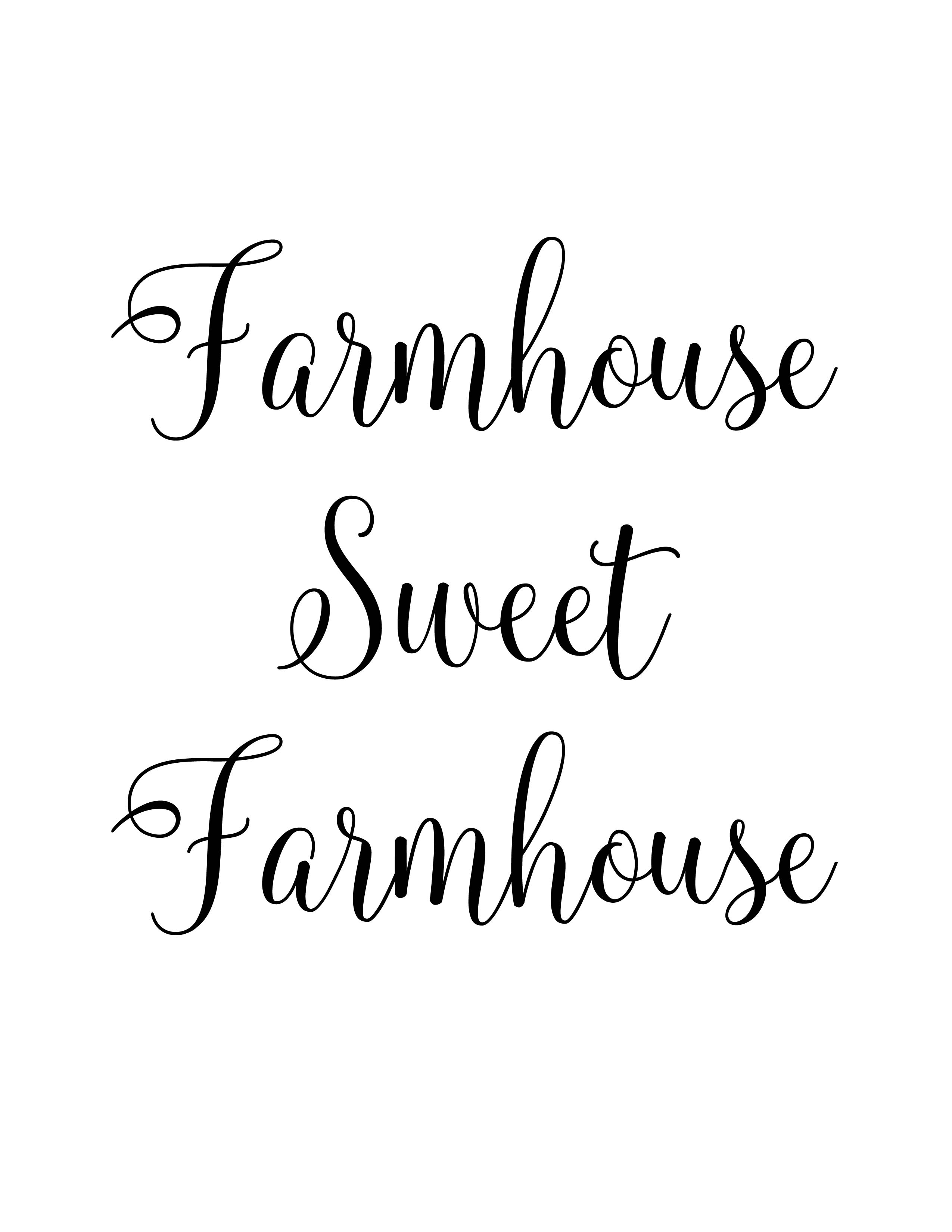 photograph relating to Farmhouse Printable titled Farmhouse Printable - Farmhouse Cute Farmhouse - Hello there