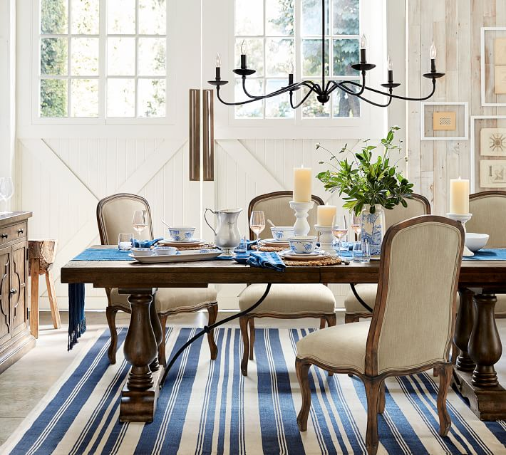 Add fixer upper style to any room with a farmhouse chandelier