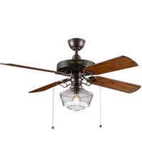 Vintage farmhouse ceiling fan