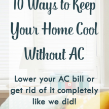 Tips on how to lower your AC bill or get rid of it completely!