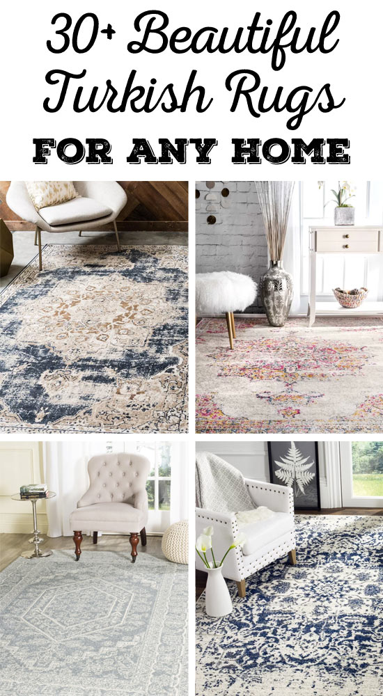 Beautiful Turkish rugs for any style home