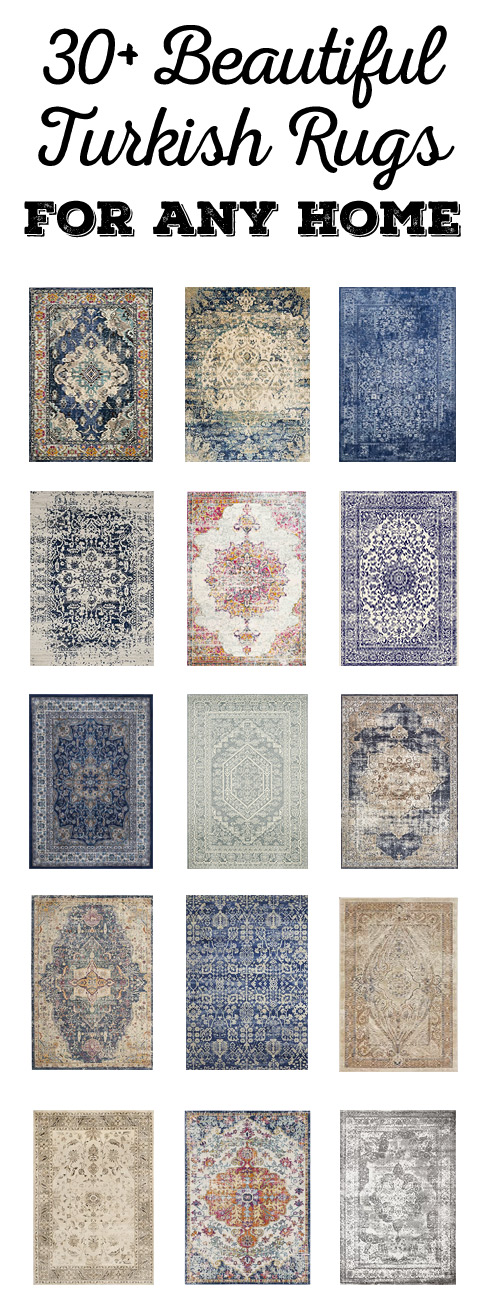 Beautiful Turkish rugs for any room!
